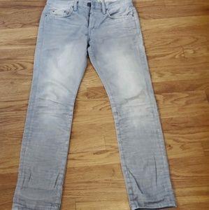 All Saints Jeans - ALL SAINTS Spitafeilds Skinny denim jeans Gray 28